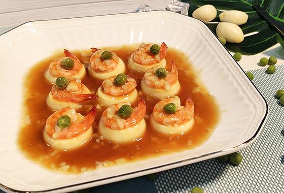 玉子蒸虾仁,一道厨房小白也能轻松驾驭的减脂菜