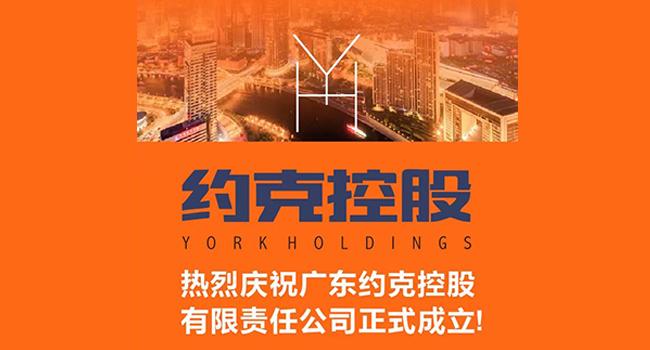 YORK约克联合四大核心供应商成立约克控股