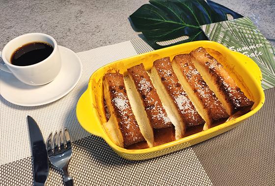 减肥也能吃的低糖无油版牛奶烤吐司